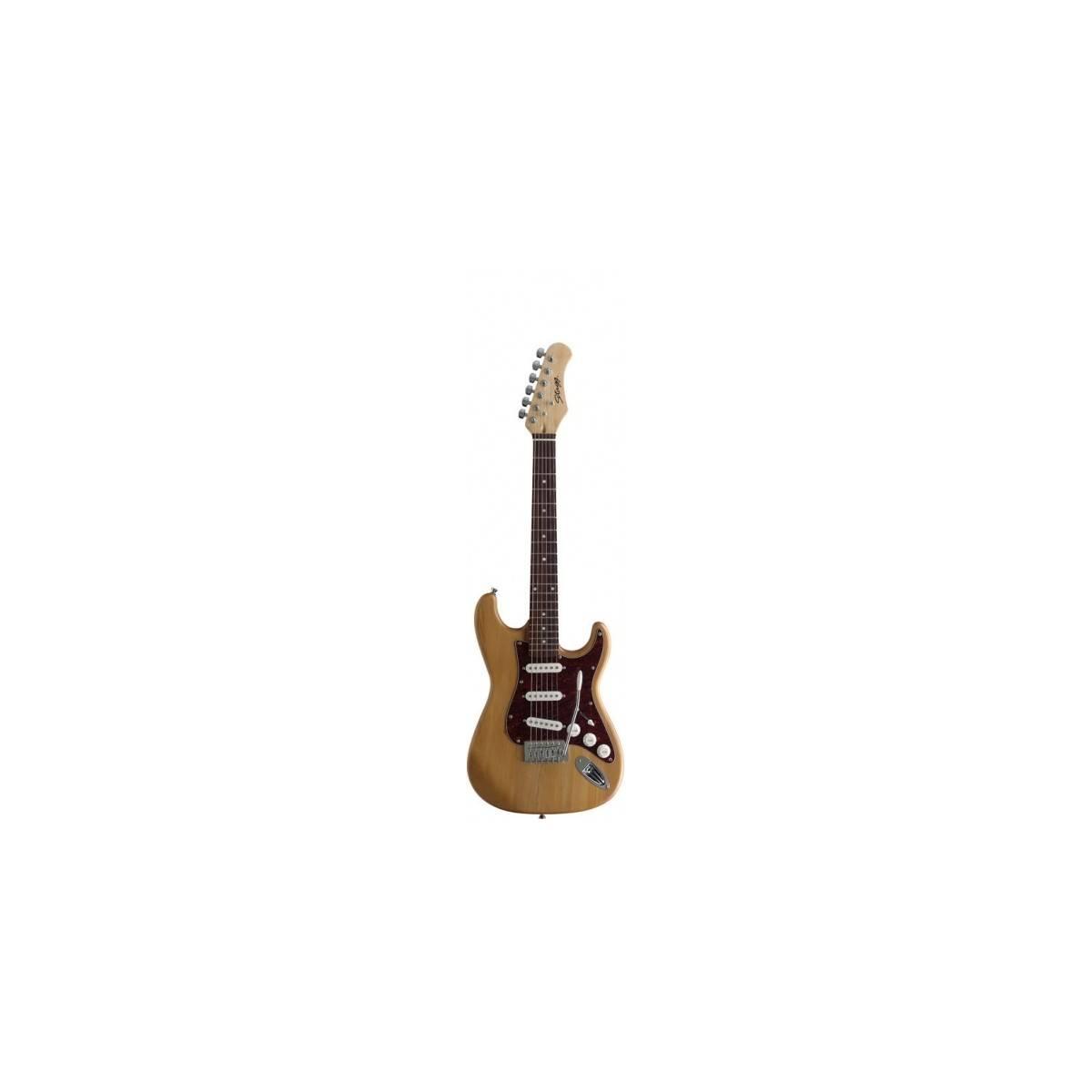 guitare electrique 3 4 s300 bois naturel neuf. Black Bedroom Furniture Sets. Home Design Ideas