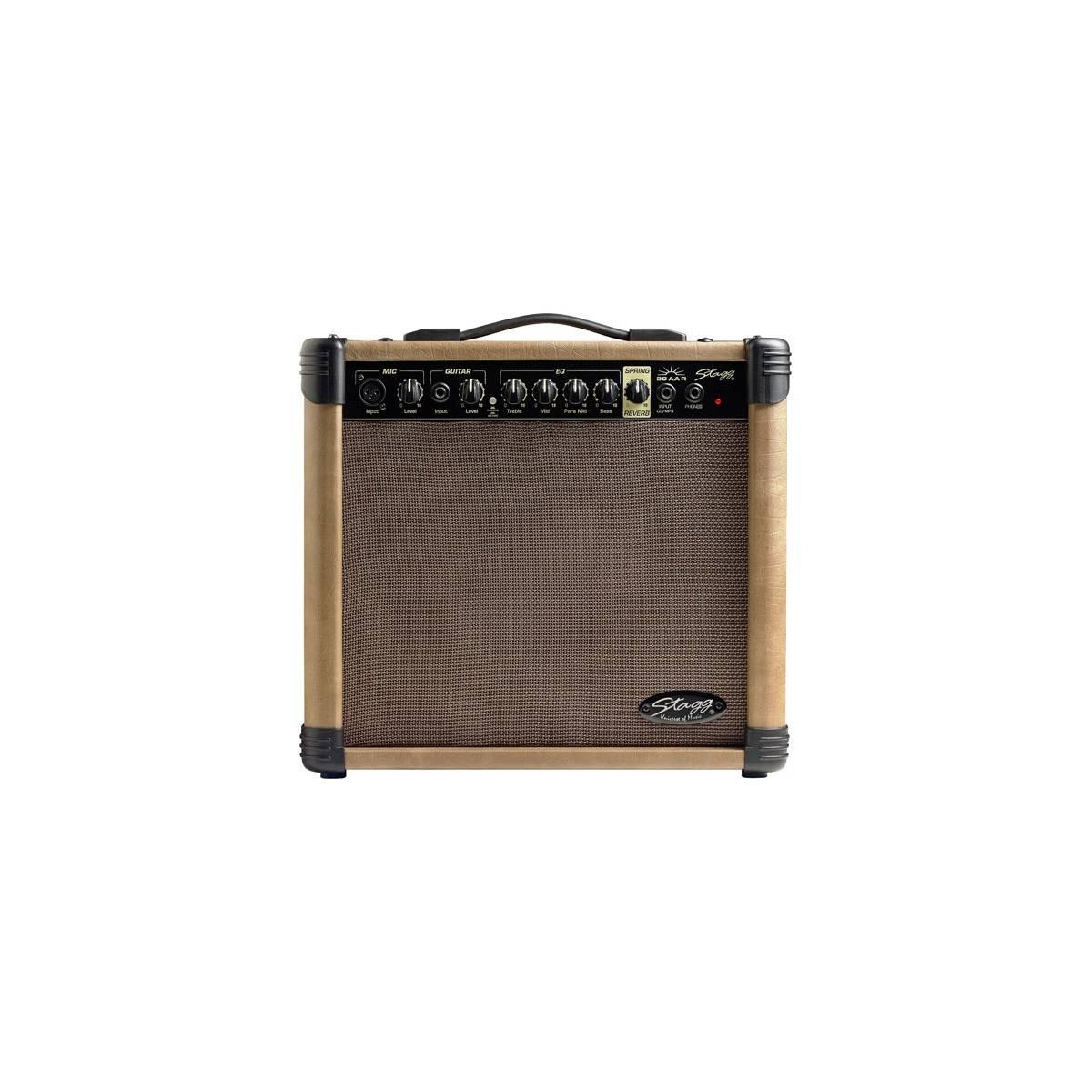 Ampli guitare électroacoustique 20 W Reverb