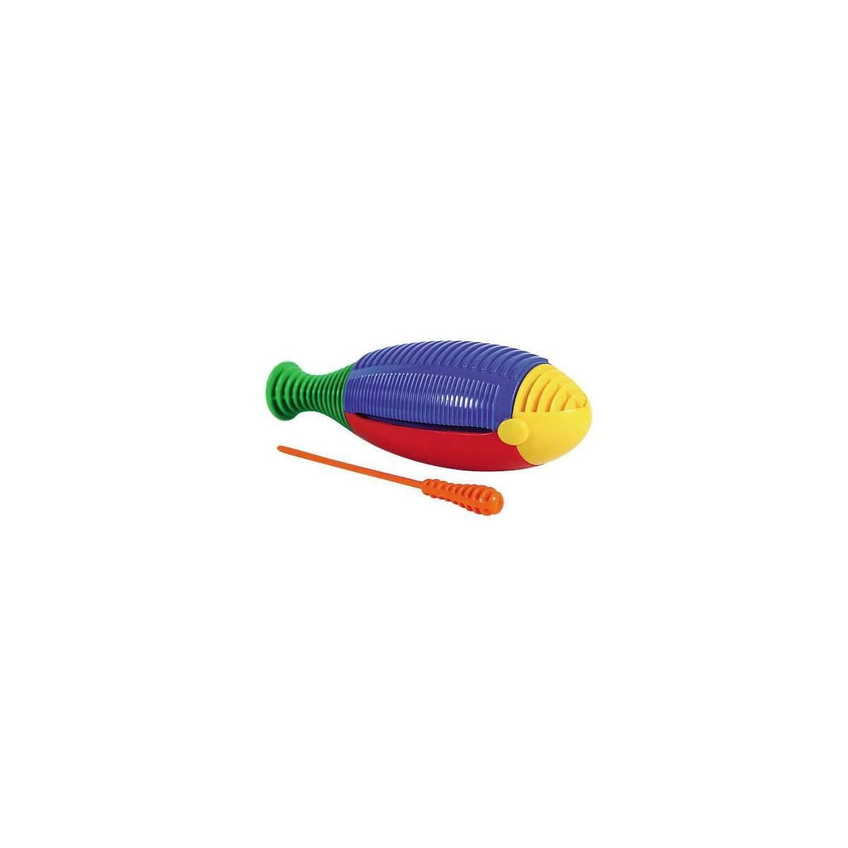 Guiro poisson jouet