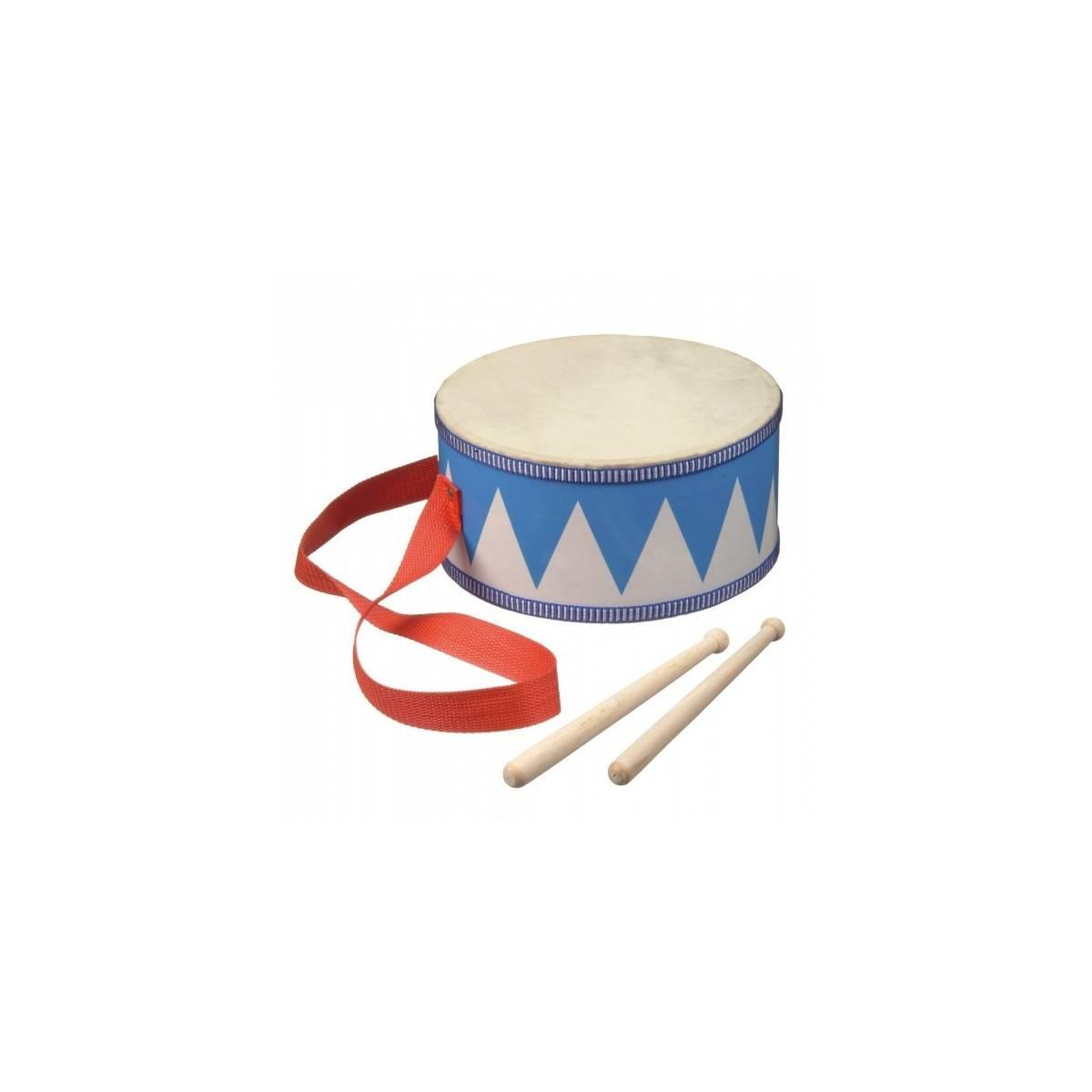 tambour de fanfare enfant bleu tambours baguettes noizikidz. Black Bedroom Furniture Sets. Home Design Ideas