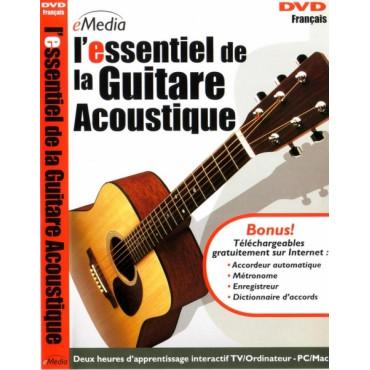 DVD L'Essentiel de la Guitare Acoustique