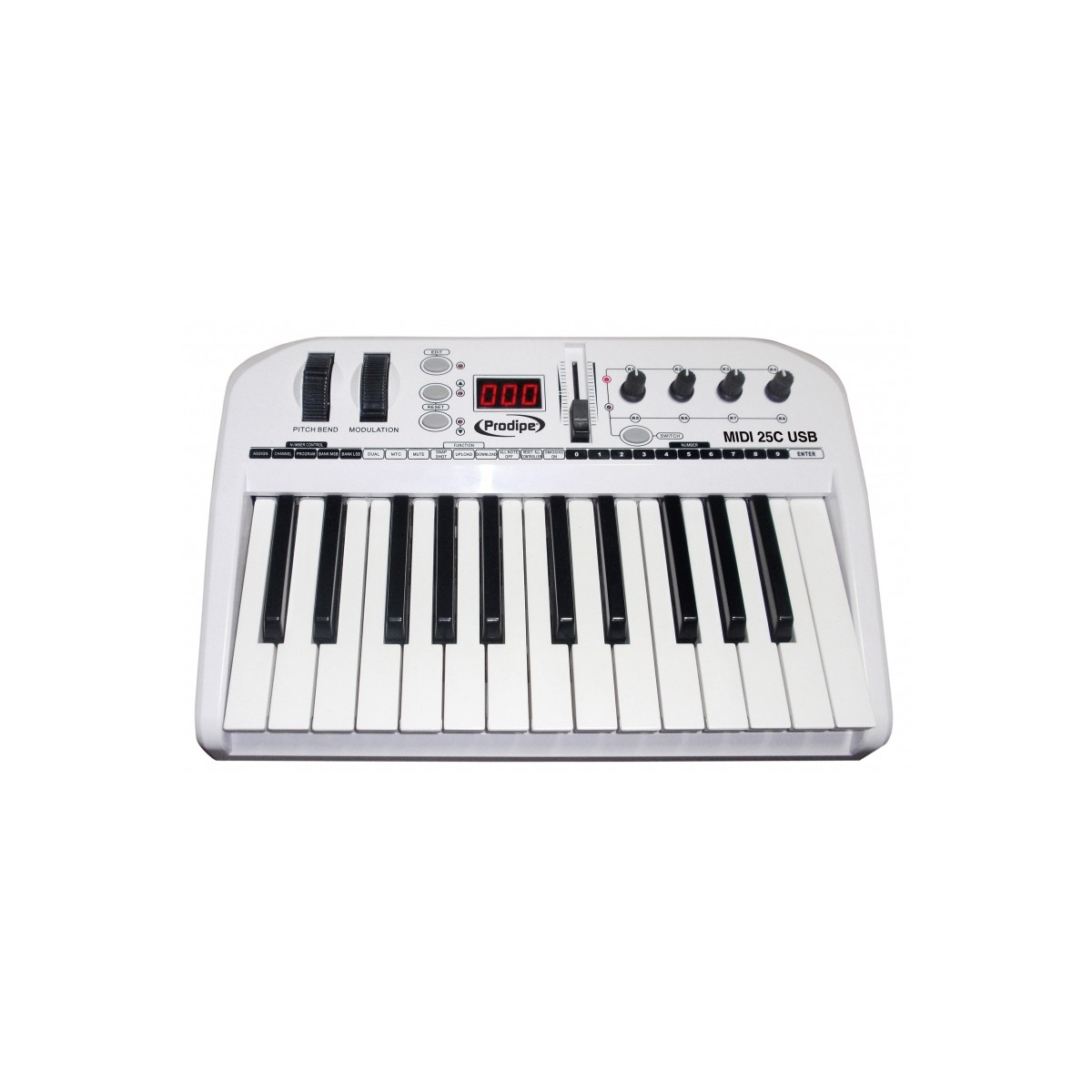 prokey25 prodipe clavier midi no zikidz. Black Bedroom Furniture Sets. Home Design Ideas
