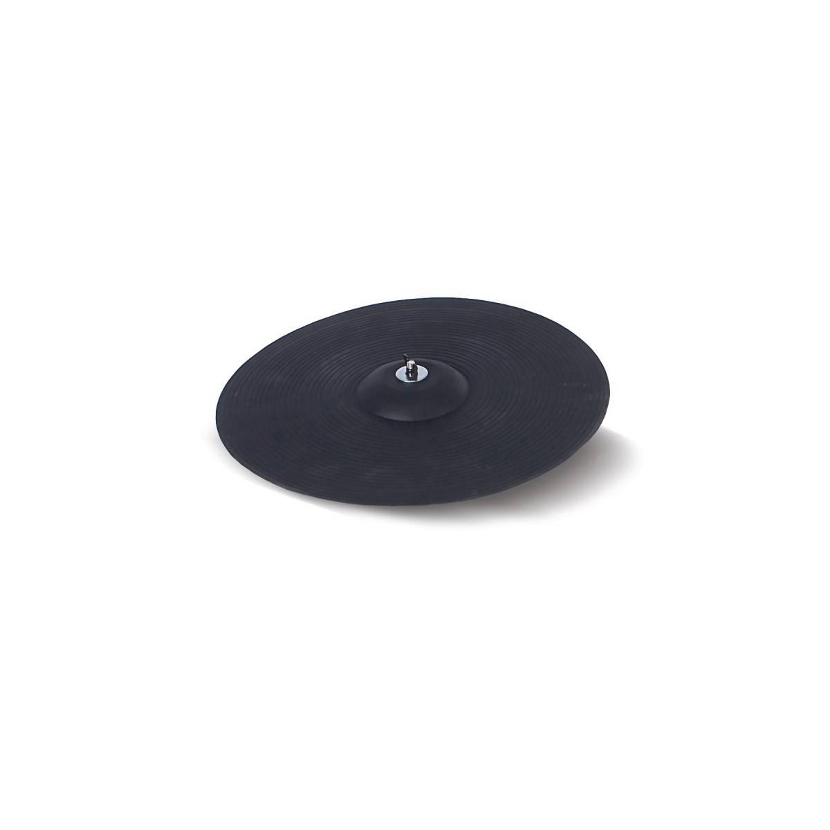 Cymbale d'entraînement muette 14''