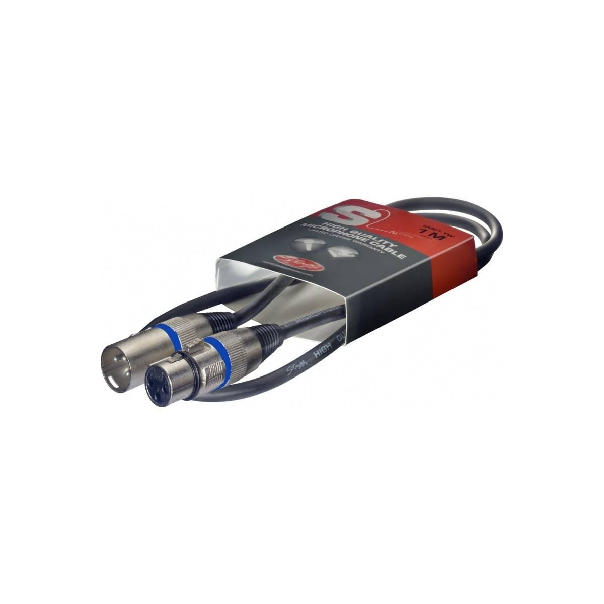 Câble XLR/XLR - 1m