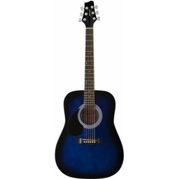 guitare gaucher enfant folk 3 4 blueburst guitare acoustique enfant. Black Bedroom Furniture Sets. Home Design Ideas