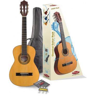 Pack guitare classique 1/4 Tilleul