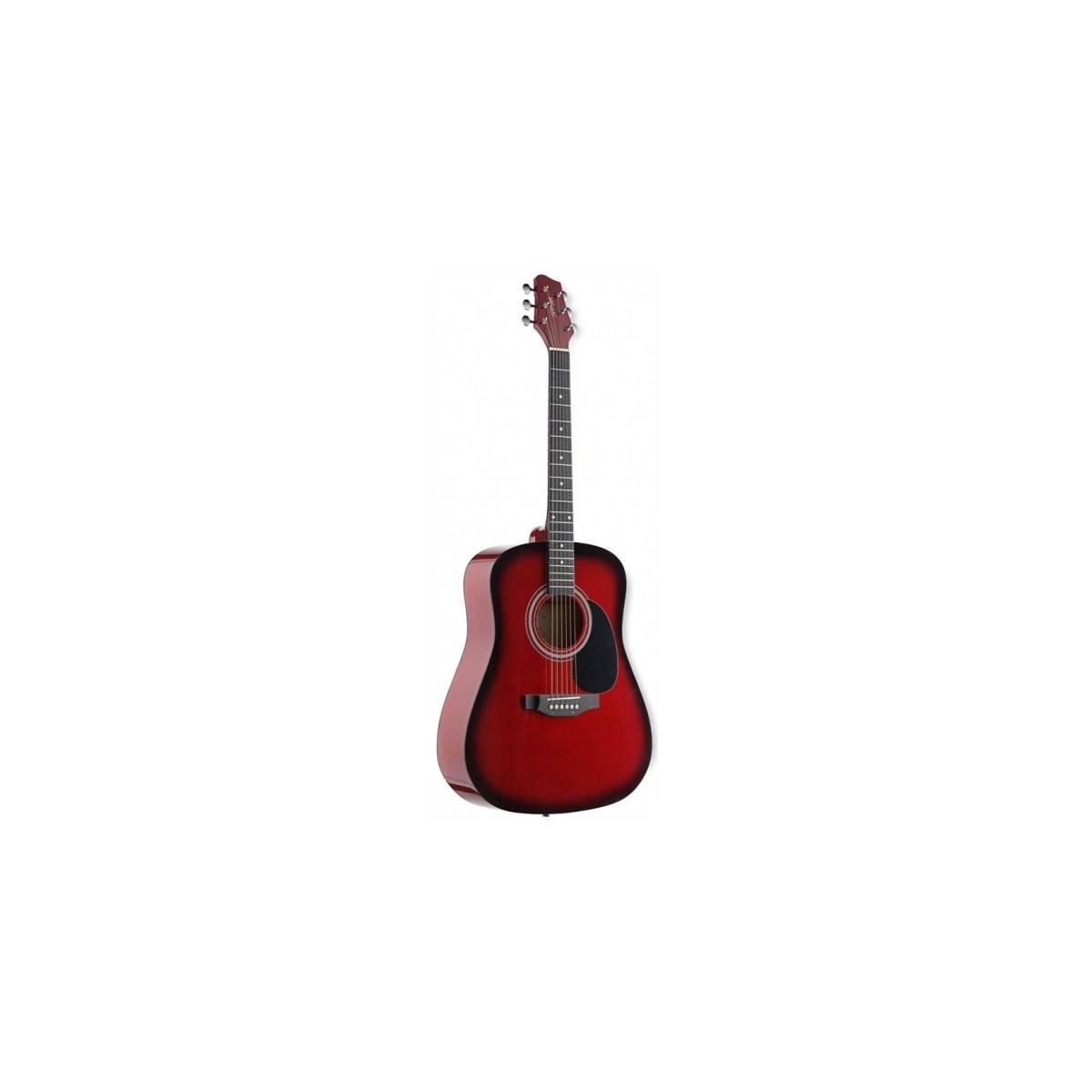 Guitare Folk 4/4 Redburst