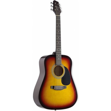 Guitare Folk 4/4 Sunburst