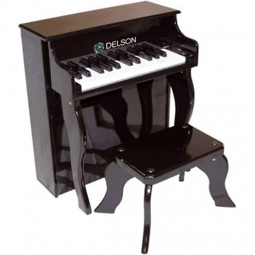 Piano droit enfant Noir Delson