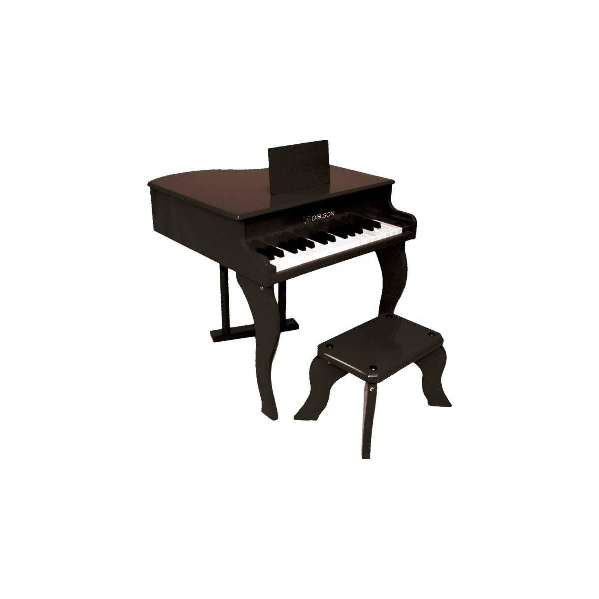 Piano à Queue Jouet Noir
