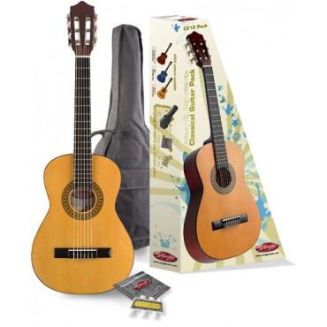 Pack guitare classique 1/2 Tilleul