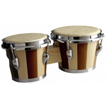 Bongos Traditionnels en bois