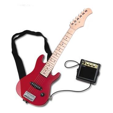 Mini Guitare Electrique Starsinger rouge