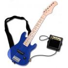 Mini Guitare Electrique Starsinger bleu
