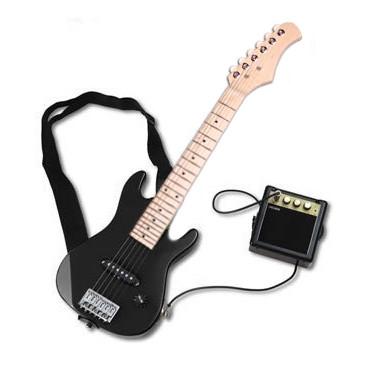 Mini Guitare Electrique Starsinger noir