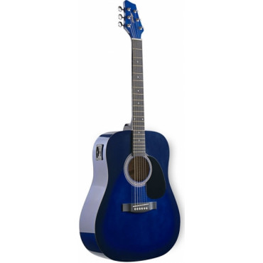 Guitare Folk Electroacoustique 4/4 Blueburst