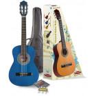 Pack Guitare Classique 1/2  Bleu