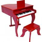 Piano à Queue Jouet Rouge