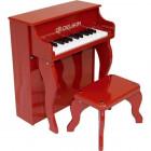 Piano droit enfant Rouge Delson