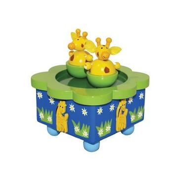 Boîte à musique Girafes
