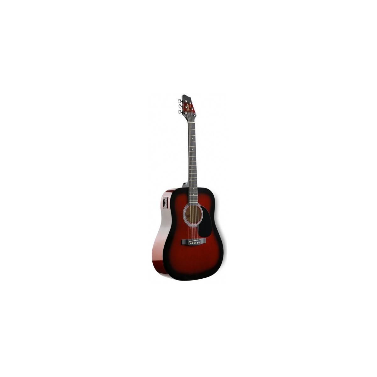 Guitare Folk Electroacoustique 4/4 Redburst