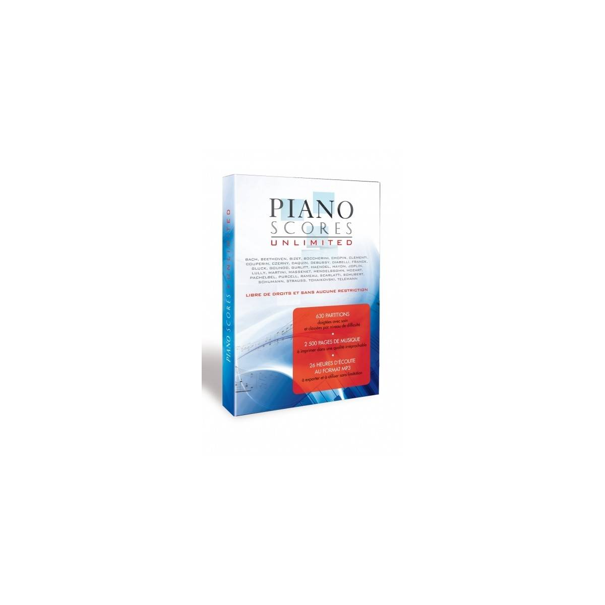 Piano Scores Unlimited - DVD de partitions