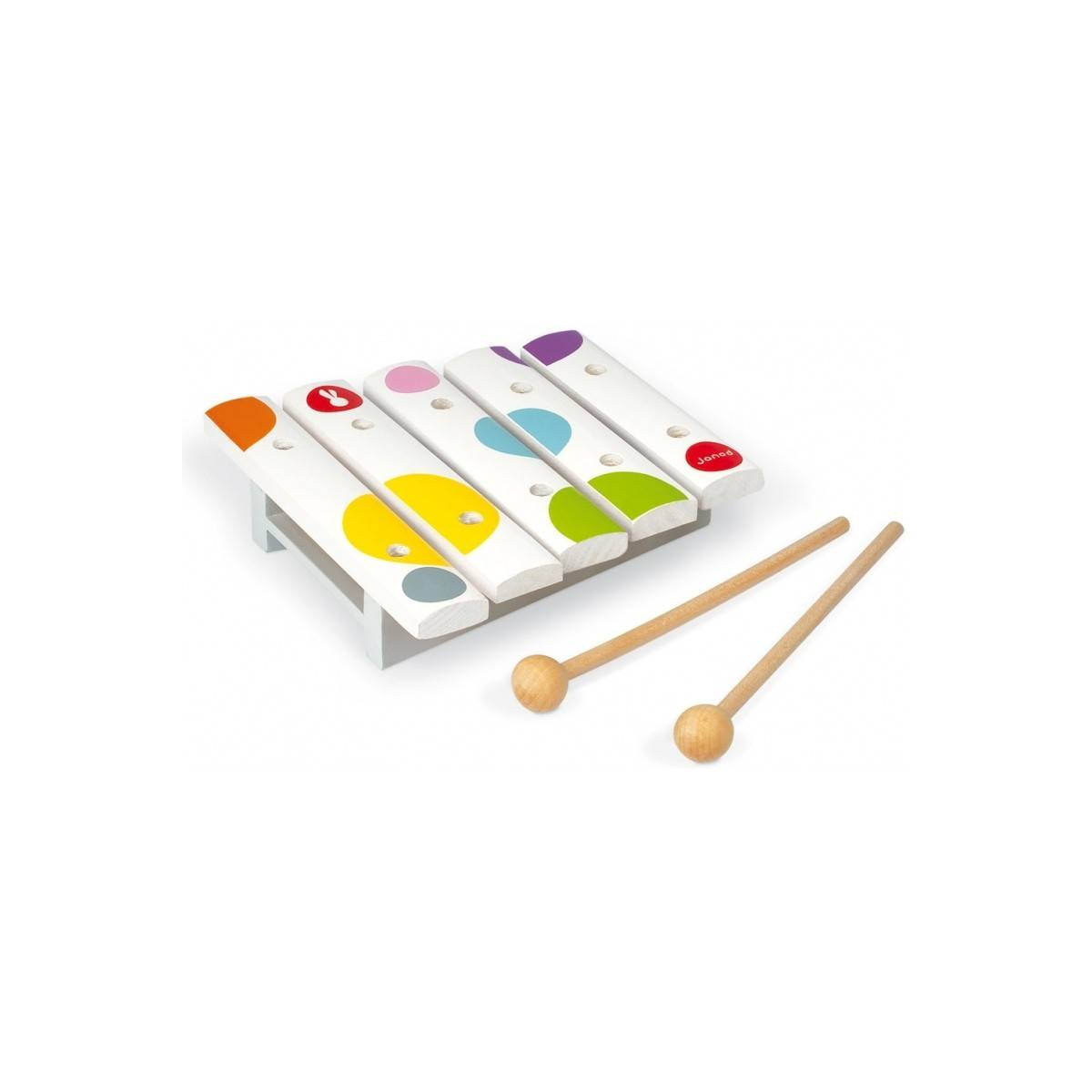 Mini-xylophone jouet Confetti