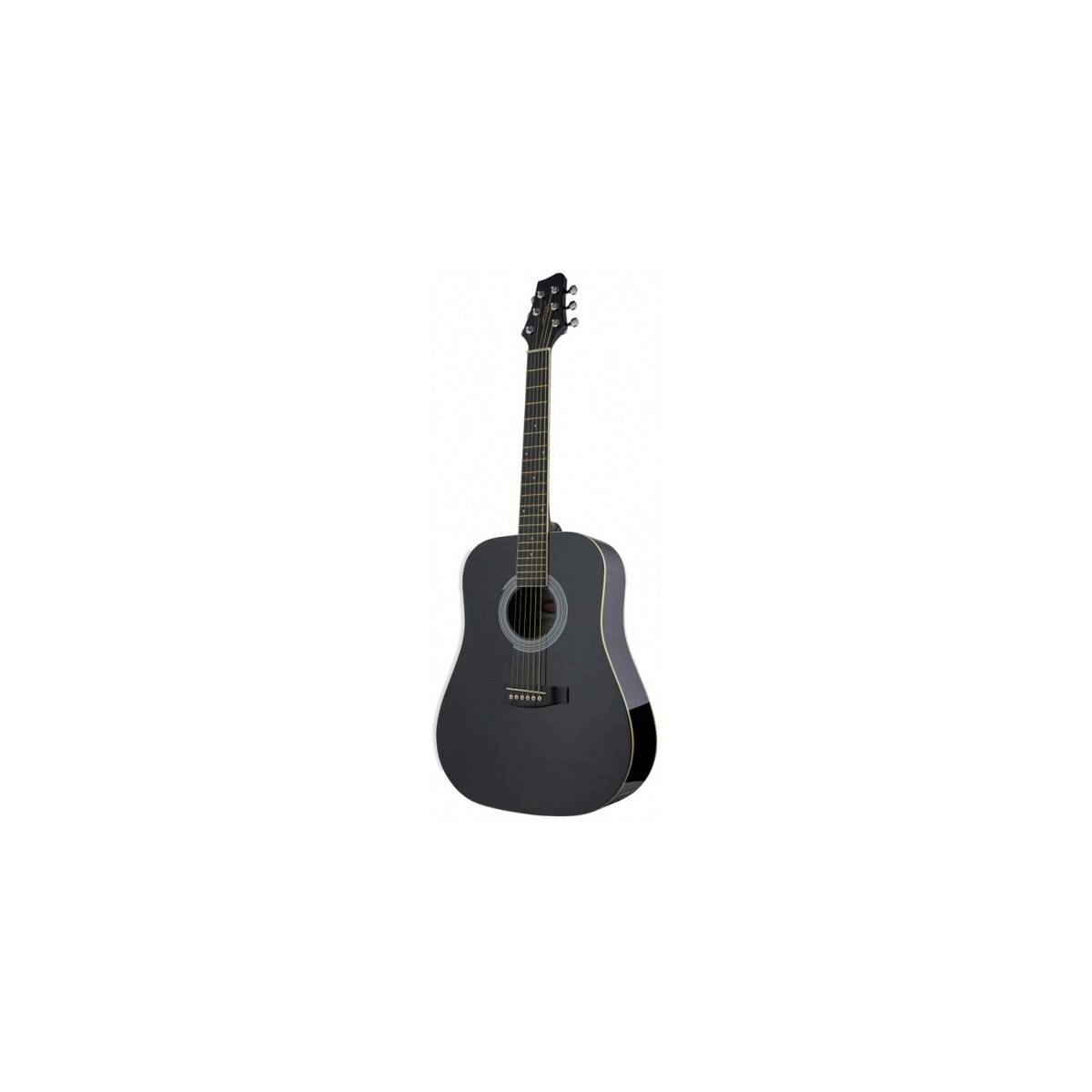 Guitare Gaucher enfant 3/4 folk black