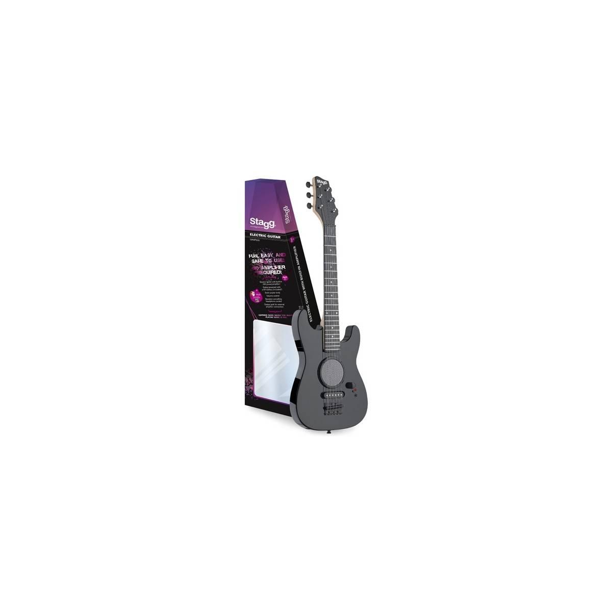 Guitare Electrique 1/2 Noire