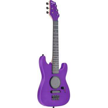Guitare Electrique 1/2 Mauve