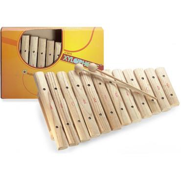 Xylophone Bois naturel 12 notes