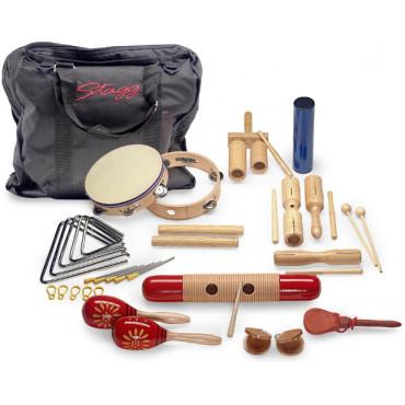 Ensemble de 17 percussions pour enfants