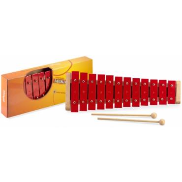 Métallophone rouge 12 tons