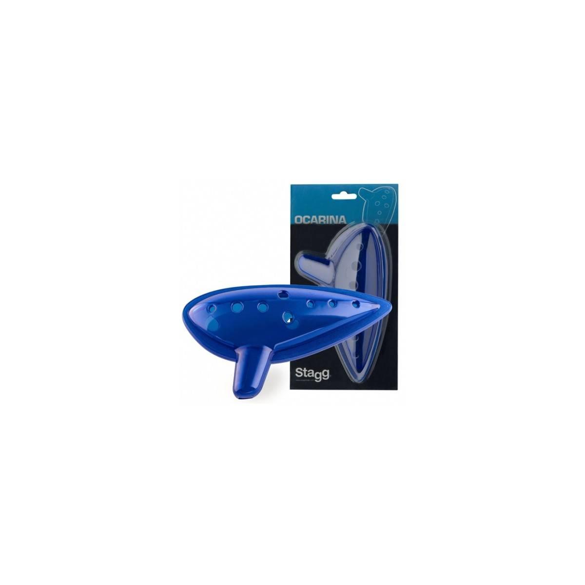 Ocarina  en plastique bleu