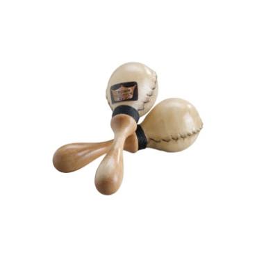 Mini maracas Remo en peau naturelle