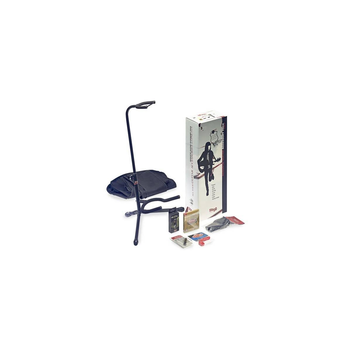Pack Accessoires pour Guitare Folk
