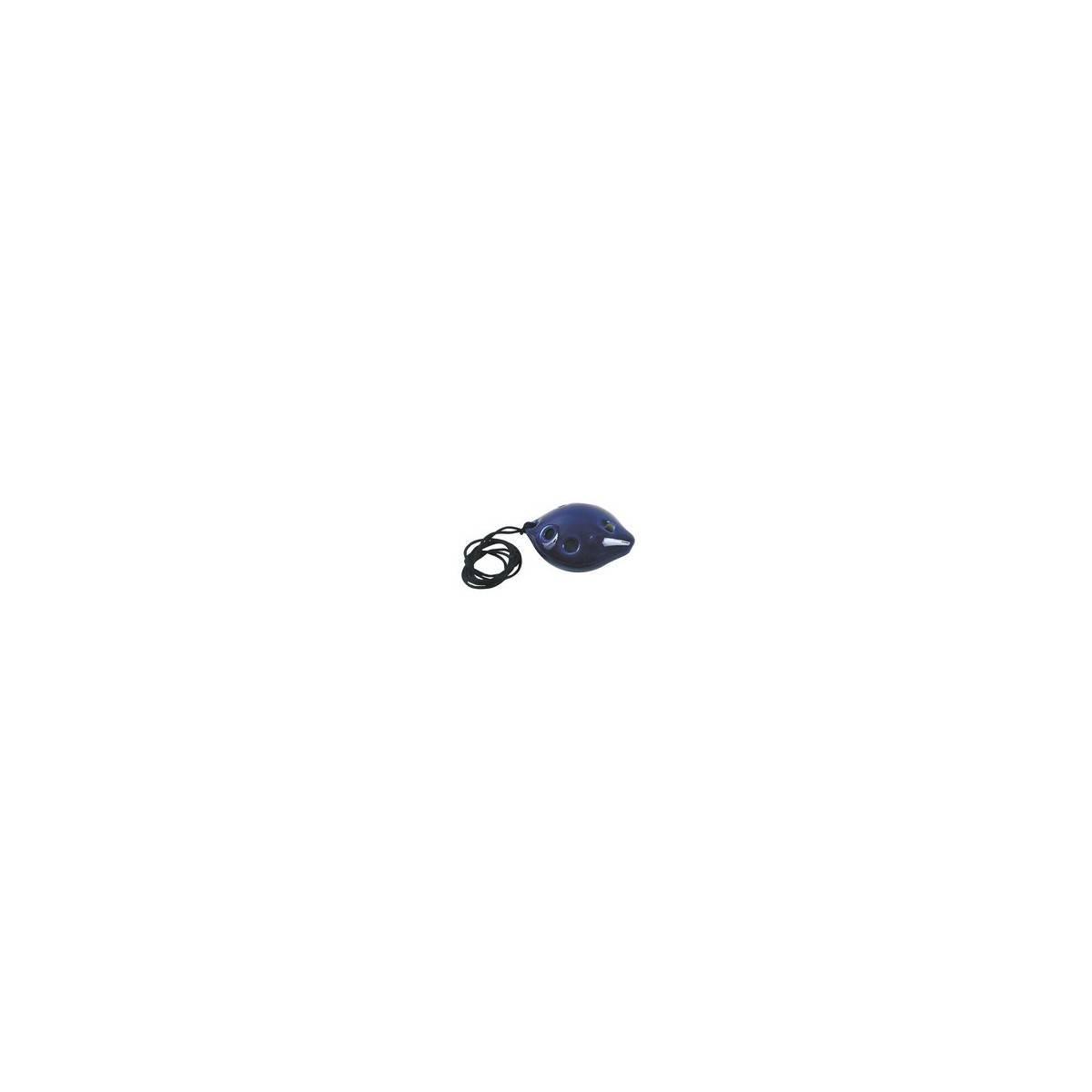 Ocarina  en céramique bleue