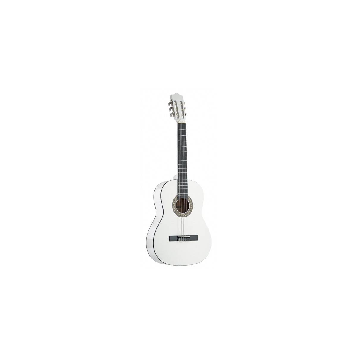 Guitare classique 4/4 tilleul blanc