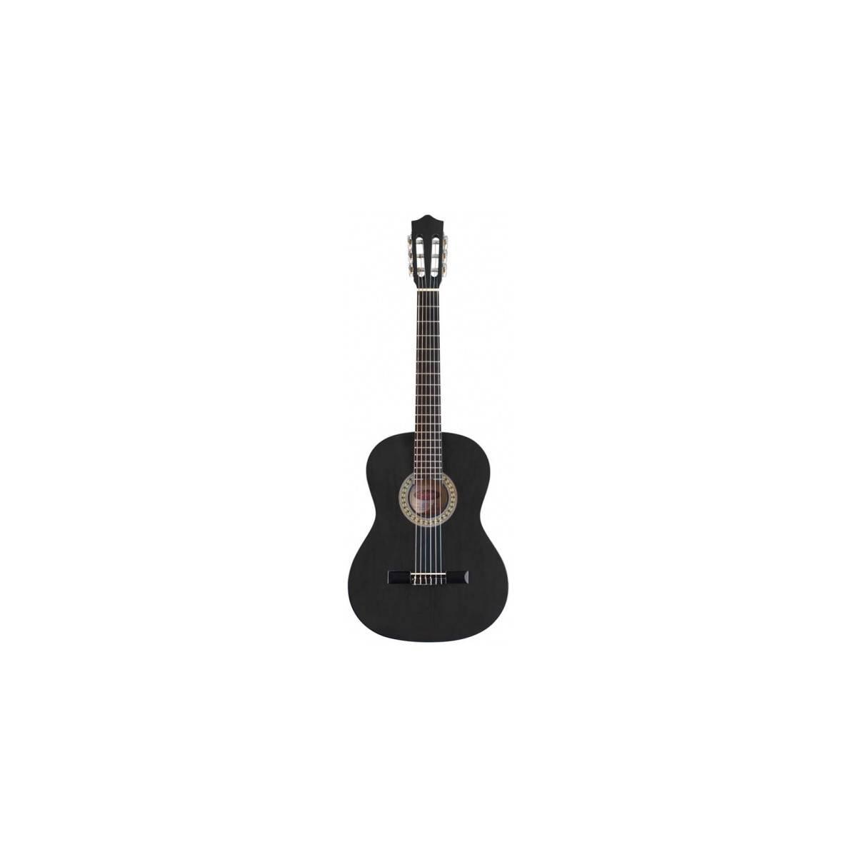 Guitare classique 4/4 tilleul noire