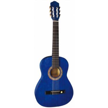 Guitare classique 4/4 bleue - Almeria Classic