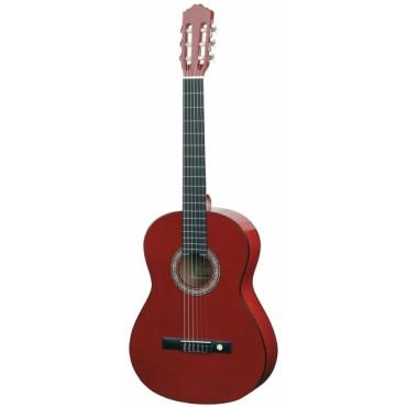 Guitare classique 4/4 rouge - Almeria Classic