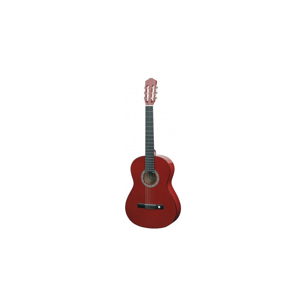 almeria guitare classique 3 4 rouge guitares acoustiques. Black Bedroom Furniture Sets. Home Design Ideas