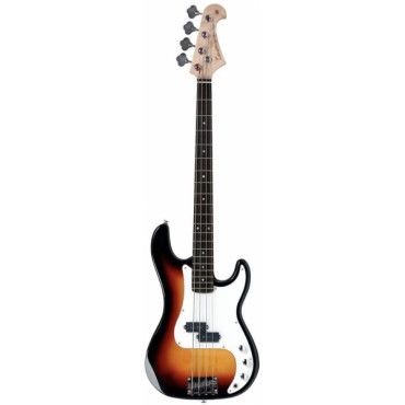 Basse Electrique 4/4 California P Sunburst