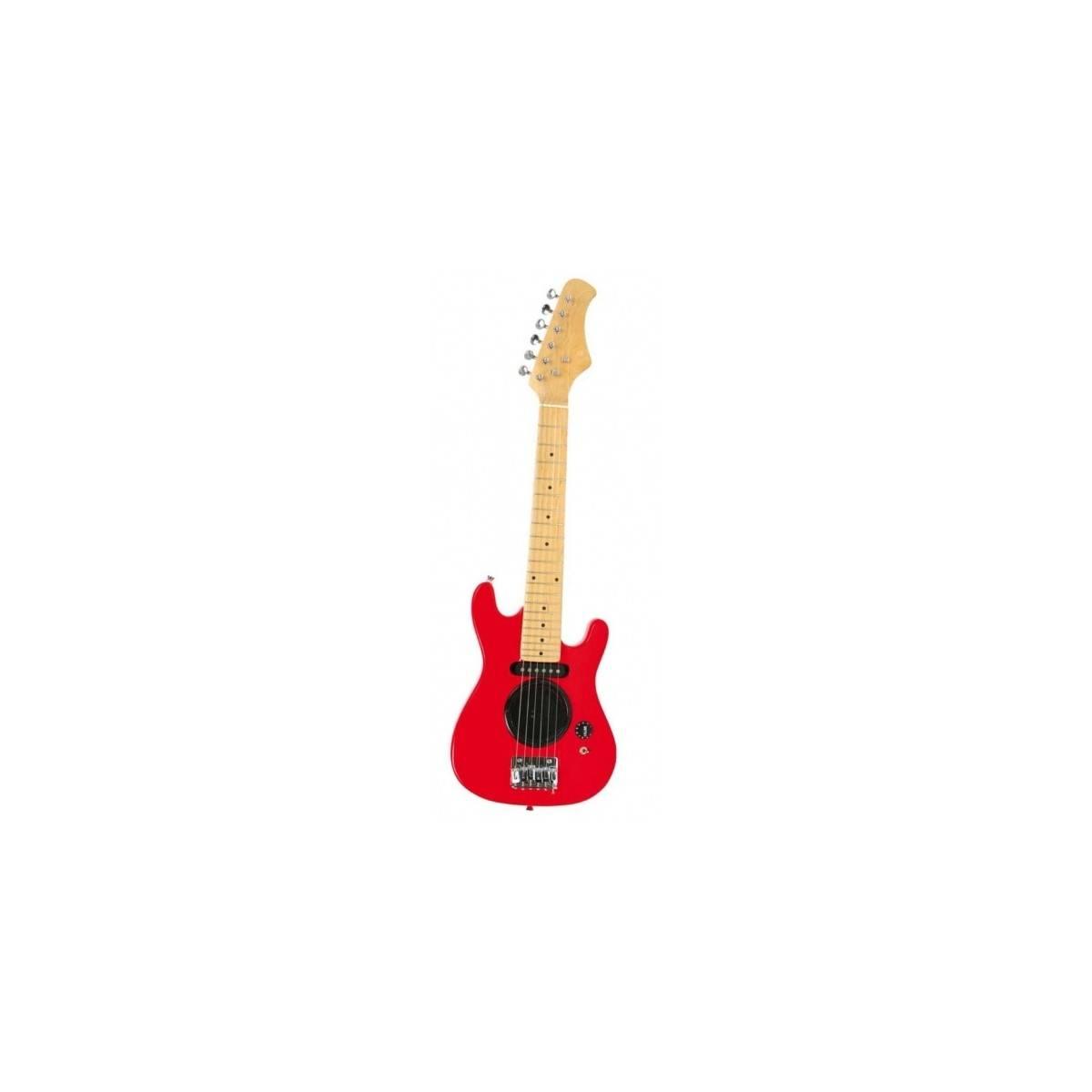 guitare lectrique enfant 1 4 ampli int gr rouge neuf. Black Bedroom Furniture Sets. Home Design Ideas