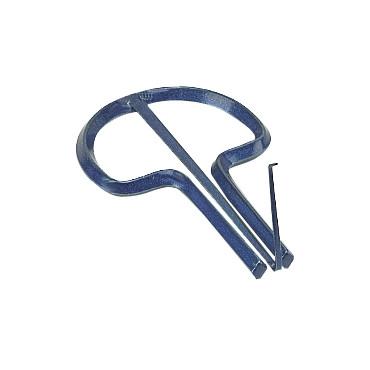 Guimbarde Bleu Metal