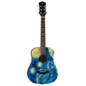 Guitare Folk voyage 3/4 Safari Van Gogh