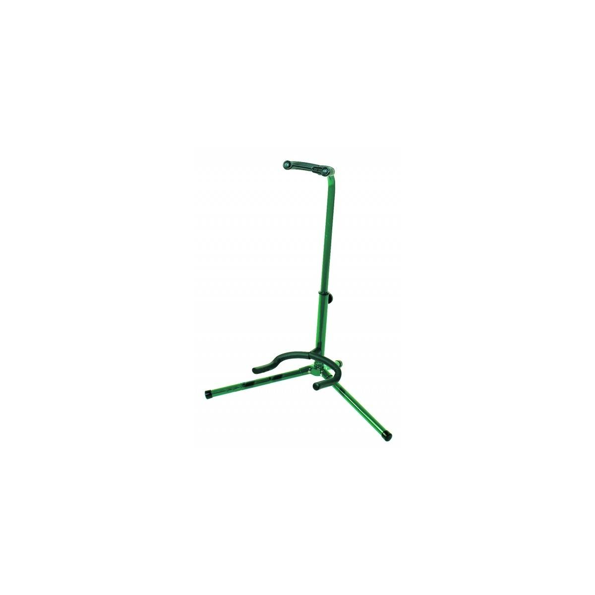 Support guitare polyvalent vert