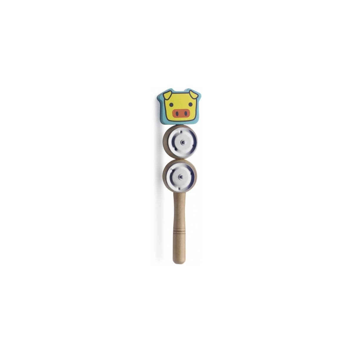 Bâton de cymbalettes Cochon