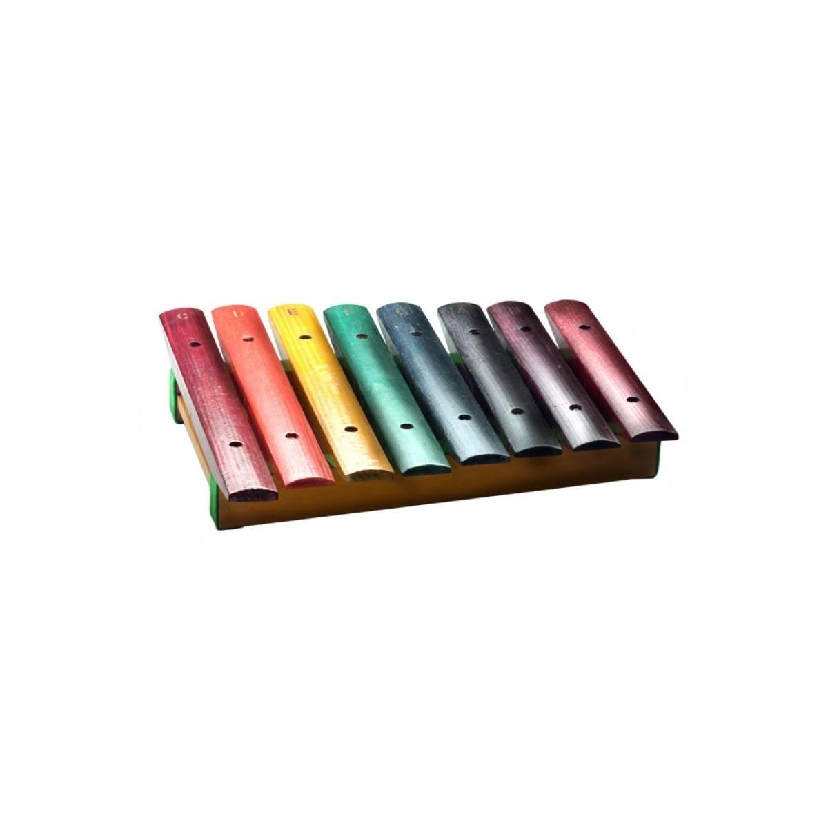 Xylophone enfant 1 octave couleurs nature