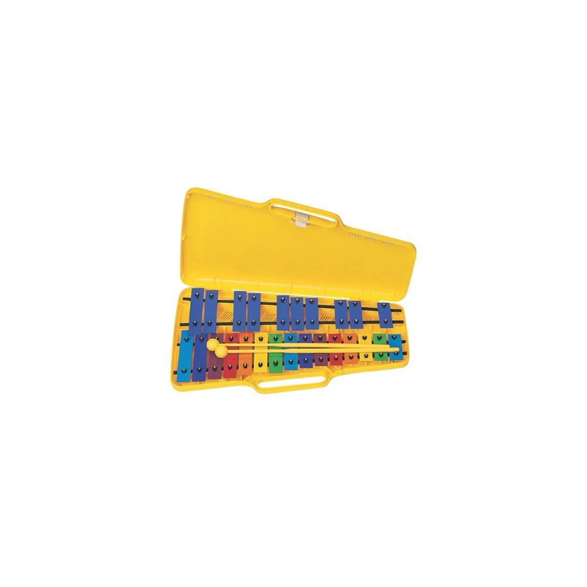 Métallophone chromatique Pro 25 lames colorées